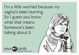 burning vag