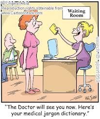 medical jargon